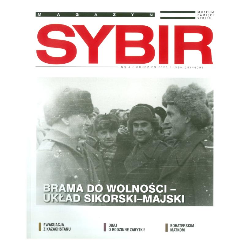 Sybir. Magazyn Muzeum Pamięci Sybiru 2020, nr 4