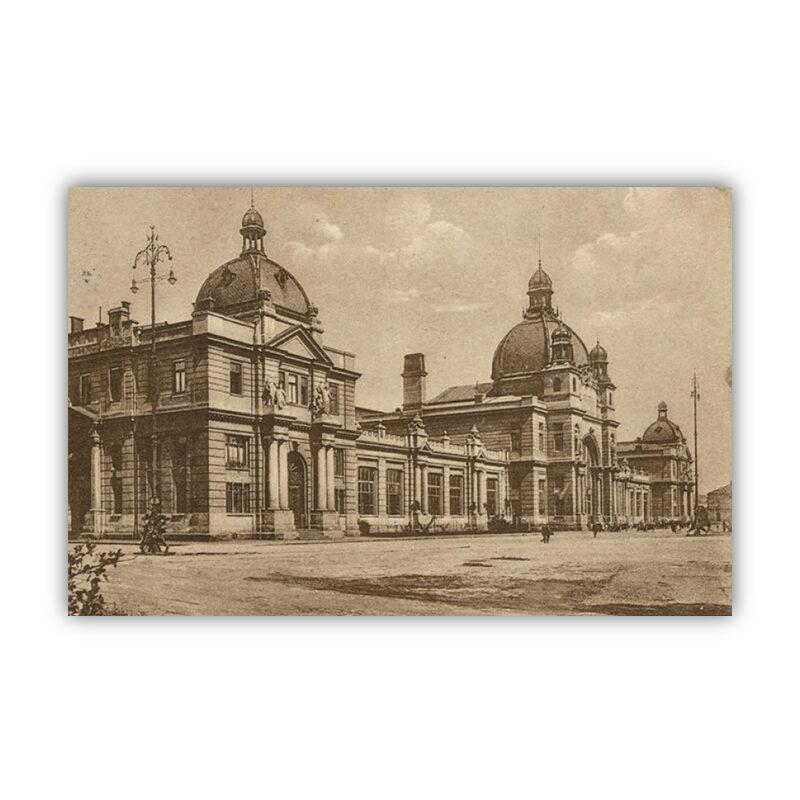 Lwów, dworzec kolejowy